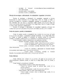 Oraganizarea Sistemului Judiciar - Parchetele de pe langa Curtile de Apel, Tribunale si Tribunale Specializate - Pagina 3