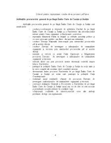 Oraganizarea Sistemului Judiciar - Parchetele de pe langa Curtile de Apel, Tribunale si Tribunale Specializate - Pagina 4