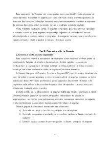 Piata Asigurarilor in Romania - Pagina 4