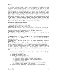 Proiect Sisteme Informatice de Asistare a Deciziei - Pagina 1