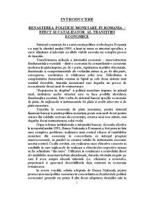 Politica Monetara si de Credit BNR - Pagina 2