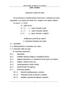 Mecanisme și Organe de Mașini - Pagina 2
