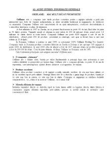 Extinderea Oriflame pe o Piata Externa - Pagina 1