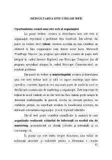 Dezvoltarea Site-urilor Web - Pagina 1