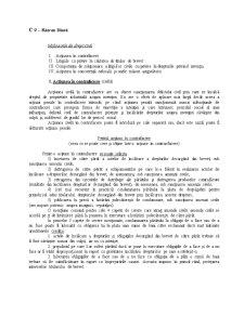 Curs 9 și 10 - Litigiile cu Privire la Calitatea de Titular de Brevet DPI - Pagina 1