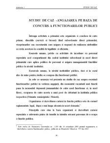Statutul Functionarilor Publici - Pagina 1