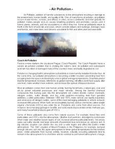 Poluarea Aerului - Pagina 1