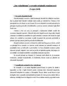 Ius Valachicum o Creație Originală Românească - Pagina 2