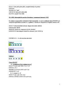 Limbajul SQL - Pagina 5