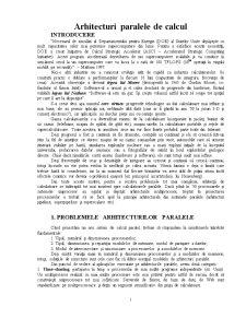 Multiprocesoare - Pagina 1