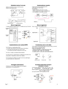 Procesorul - Caile de Date si Unitatea de Control - Pagina 2