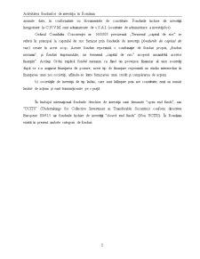 Activitatea Fondurilor de Investiții în România - Pagina 2