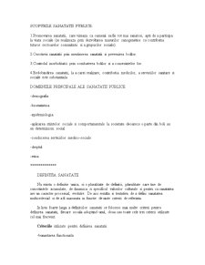 Starea de sanatate si caracteristicile ei in Romania - Pagina 4