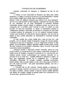 Contractul de Antrepriza - Pagina 1