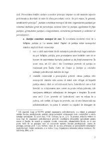 Organizarea Magistraturii, Avocaturii, Notariatului Public si Activitatii Executorilor - Pagina 2