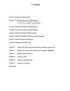 Evaluarea Performanțelor Profesionale - Pagina 2