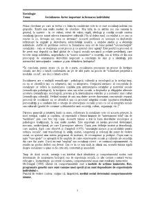 Socializarea - Factor Important în Formarea Individului - Pagina 3