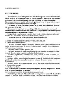 Caiet de Sarcini Cladire - Pagina 1