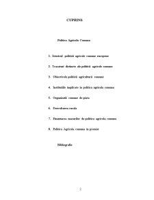 Politica Agricola Comuna - Pagina 2