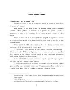 Politica Agricola Comuna - Pagina 3