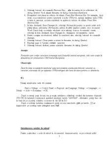 Utilizarea Procesorului de Texte Word din Microsoft Office - Pagina 3