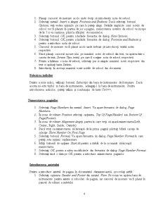 Utilizarea Procesorului de Texte Word din Microsoft Office - Pagina 4