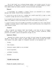 Notiuni Generale si Parti Componente ale Calculatorului Hardware & Software - Pagina 2