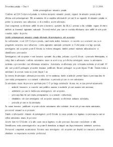 Procedura Penala - Pagina 1