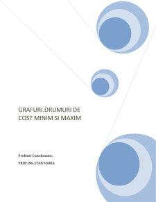 Drumuri de Cost Minim și Maxim - Pagina 1