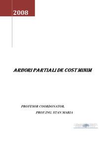 Arbori Partiali de Cost Minim - Pagina 1