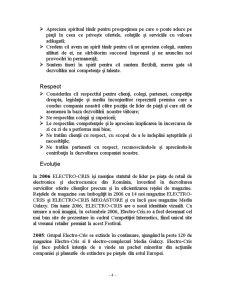 Gestionarea Activitatii unei Firme - Electro - Cris - Pagina 4