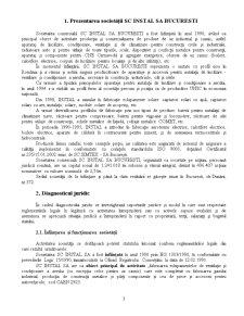 Evaluarea Intreprinderii - SC Instal SA - Pagina 3