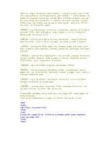 Curs HTML - Pagina 2