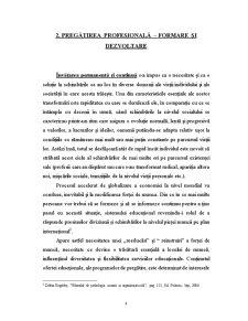 Pregatire Profesionala - Formare Profesionala - Pagina 4