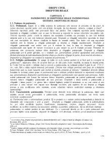 Drept Civil Drepturi Reale - Pagina 1