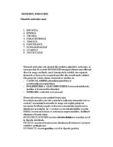 Sistemul Endocrin la Om - Pagina 2