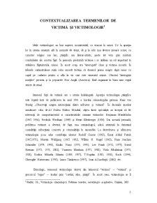 Victima si Victimologie - Relatia Victima-Agresor in Cadrul Violentei Domestice - Pagina 2
