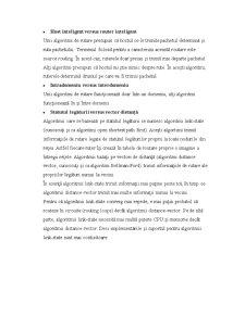 Algoritmi de Rutare - Pagina 3