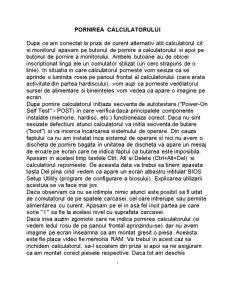 Configurare Bios - Pagina 1