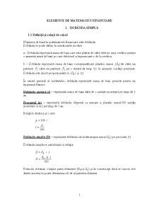 Matematici Actuariale și Financiare - Pagina 1