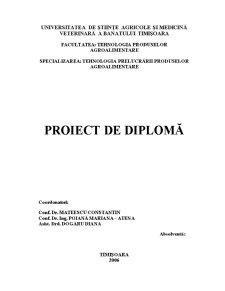 Studiu Privind Utilizarea Extractelor de Malț în Panificație - Pagina 1