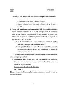 Garantii Procedurale - Pagina 1