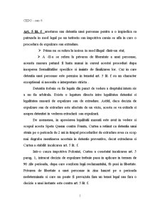 CEDO - Garantii Procedurale - Pagina 1