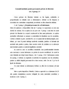 CEDO - Garantii Procedurale - Pagina 2