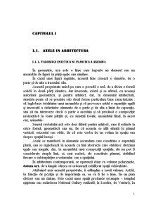 Axele in Arhitectura - Pagina 1