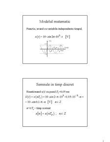 Semnale și Sisteme - Pagina 2