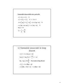 Semnale și Sisteme - Pagina 4