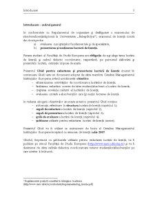 Ghid pentru Redactarea și Prezentarea Lucrării de Licență - Pagina 3