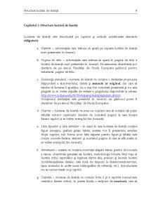 Ghid pentru Redactarea și Prezentarea Lucrării de Licență - Pagina 4