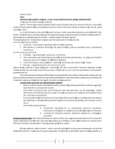 Drept Administrativ și Știința Administratiei - Pagina 1